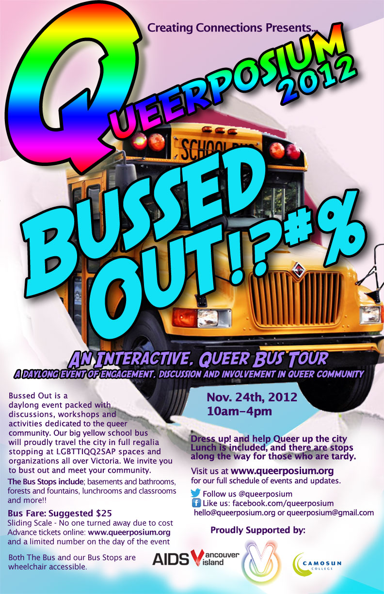 poster of the Queerposium evite