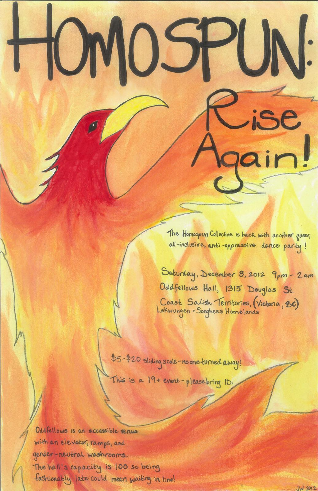 Poster for Homospun: Rise Again