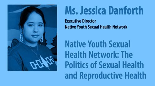 portion of a poster of Jessica Danforth lecture event at UVic