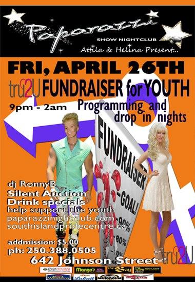 fundraiser poster for tru2U