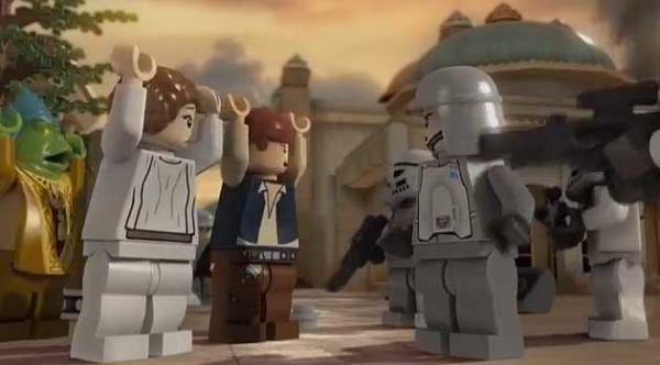 Princess Leah, Han Solo and others
